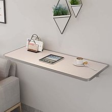 Wood Wall-mounted Drop-leaf Table, Folding Kitchen