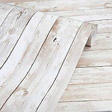 Wood Wallpaper 17.71' X 393' Self-Adhesive