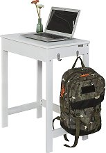 Wood White Home Office Kids Table Computer Desk