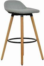 Wooden 73cm Bar Stool Norden Home Colour