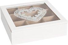 Wooden Accessory Box Fleur De Lis Living