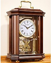 Wooden Anniversary Clock Octagonal with handle