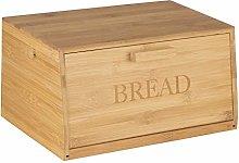 Wooden Bamboo Bread Bin Countertop Bread Storage