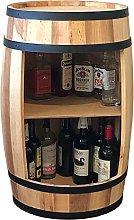 Wooden Barrel, Wine Cabinet 81cm, Barrel Wine