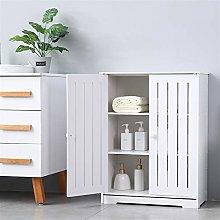 æ— Wooden Bathroom Floor Cabinet, Free Standing