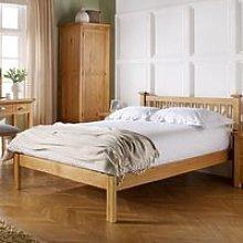 Wooden Bed Frame 5ft King Size Woburn Oak