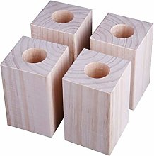 Wooden Bed Risers Lifts Height Heavy Duty Table