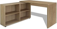 Wooden Bedroom Office Computer Desk Table with