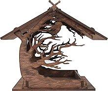Wooden Birdhouse Garden Bird Feeder Garden Gifts-