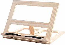 Wooden Book Stand,Bamboo Recipe Cookbook Holder