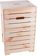 Wooden Cabinet Laundry Bin Symple Stuff