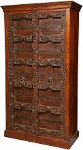 Wooden cabinet with Antique original doors