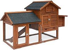 Wooden chicken coop - GALINETTE, for 3 chickens,