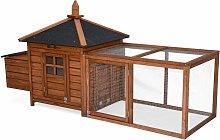 Wooden chicken coop - JAVA, for 3 chickens,