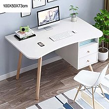 Wooden Computer Desk, Home Office Workstation PC