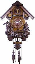 Wooden Cuckoo Clock, German Black Forest Cuckoo