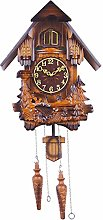 Wooden Cuckoo Clock, German Black Forest Cuckoo