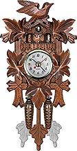 Wooden Cuckoo Wall Clock - Antique Wooden Wall