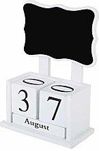 Wooden Desk Calendar Wooden Block Calendar for