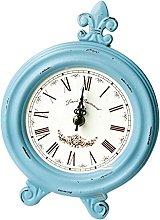 Wooden Desk Table Clock Mantel Wooden Clock For
