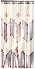 Wooden Door Curtain Blinds Handmade Fly Screen