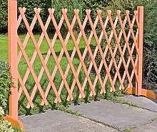 Wooden Expanding Fencing