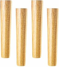 Wooden Furniture Legs,Solid Wood Straight Tapered