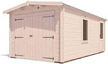 Wooden Garage Trent W3m x D5.5m - Low Roof Car