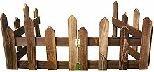 Wooden Garden Picket Fence,Anti-Corrosive