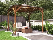 Wooden Gazebo Erin W2.5m x D2.5m - Garden Shelter