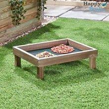 Wooden Ground Feeder Tray