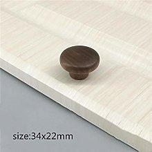 Wooden Home Handle Kitchen Cabinet Knobs Handles