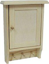 Wooden Key House Cabinet Cupboard Rack Holder