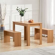 Wooden Kitchen Furniture 6 Seater Dinning Table 2
