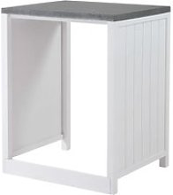 Wooden Kitchen Unit for Dishwasher in White W70