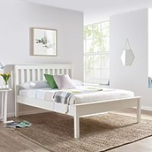 Wooden Low Foot End Bed Frame 3ft Single Grace
