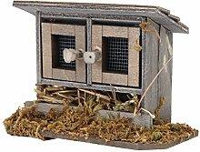Wooden Miniature Chicken Coop, Lightweight Chicken