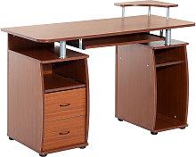 Wooden Office Computer PC Table Desk Desktop
