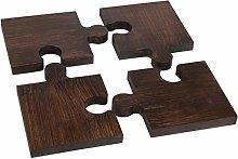 Wooden Puzzle Trivet | Teapot Coaster | for Hot