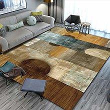 Wooden ripper Living room carpet vintage style
