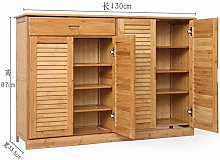 Wooden Shoe Cabinet Bamboo Shoe Rack Solid