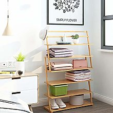 Wooden Shoe Rack 6/7 Tier Dust-Proof Household