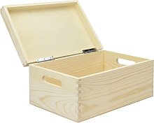 Wooden Storage Box Brown - Pukkr