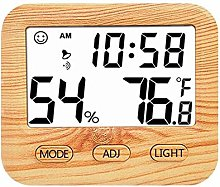 Wooden Thermometer Digital Indoor Room Thermometer