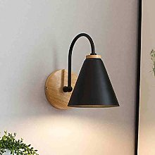 Wooden Wall Lamp Bedside Wall Lamp Kitchen