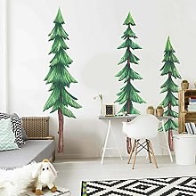 Woodland Forest Trees Set of 3 Wall Stickers