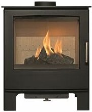 Woodland Multifuel Stove Large Glass Viewing
