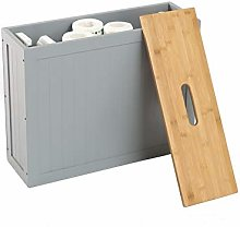 woodluv Grey Shaker Slimline MDF Multi-purpose