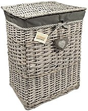 WoodLuv Medium Rectangular Laundry Linen Willow