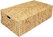 Woodluv Water Hyacinth Under Bed Storage Box Chest